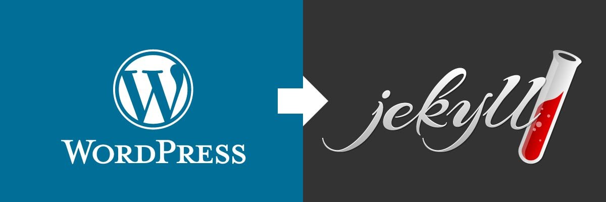 Switch from WordPress to Jekyll